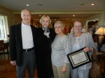 Mount St. Mary's volunteer recognition - 1000 Hours